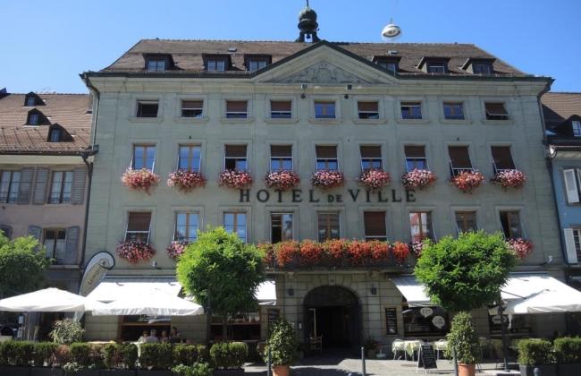 Hôtel de Ville de Bulle - Salle des votes
