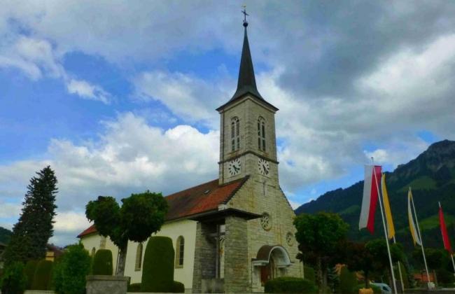 Eglise St-Othmar à Broc
