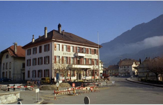 Hôtel de Ville de Broc - Grande salle
