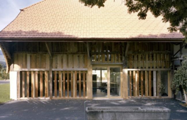 Salle paroissiale de Vuippens