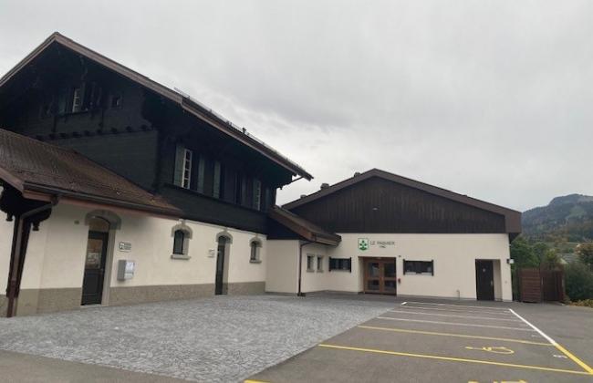 Salle polyvalente au Pâquier
