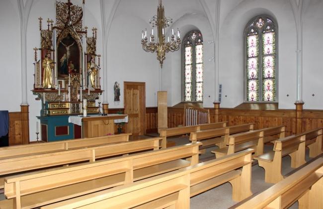 Bâtiment de Ste-Croix - Chapelle