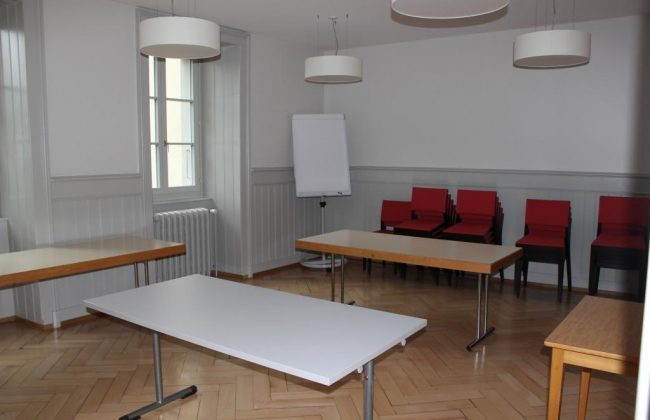 Bâtiment de Ste-Croix - Salle de conférence