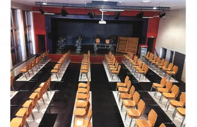 Salle communale de la gare de Vuadens